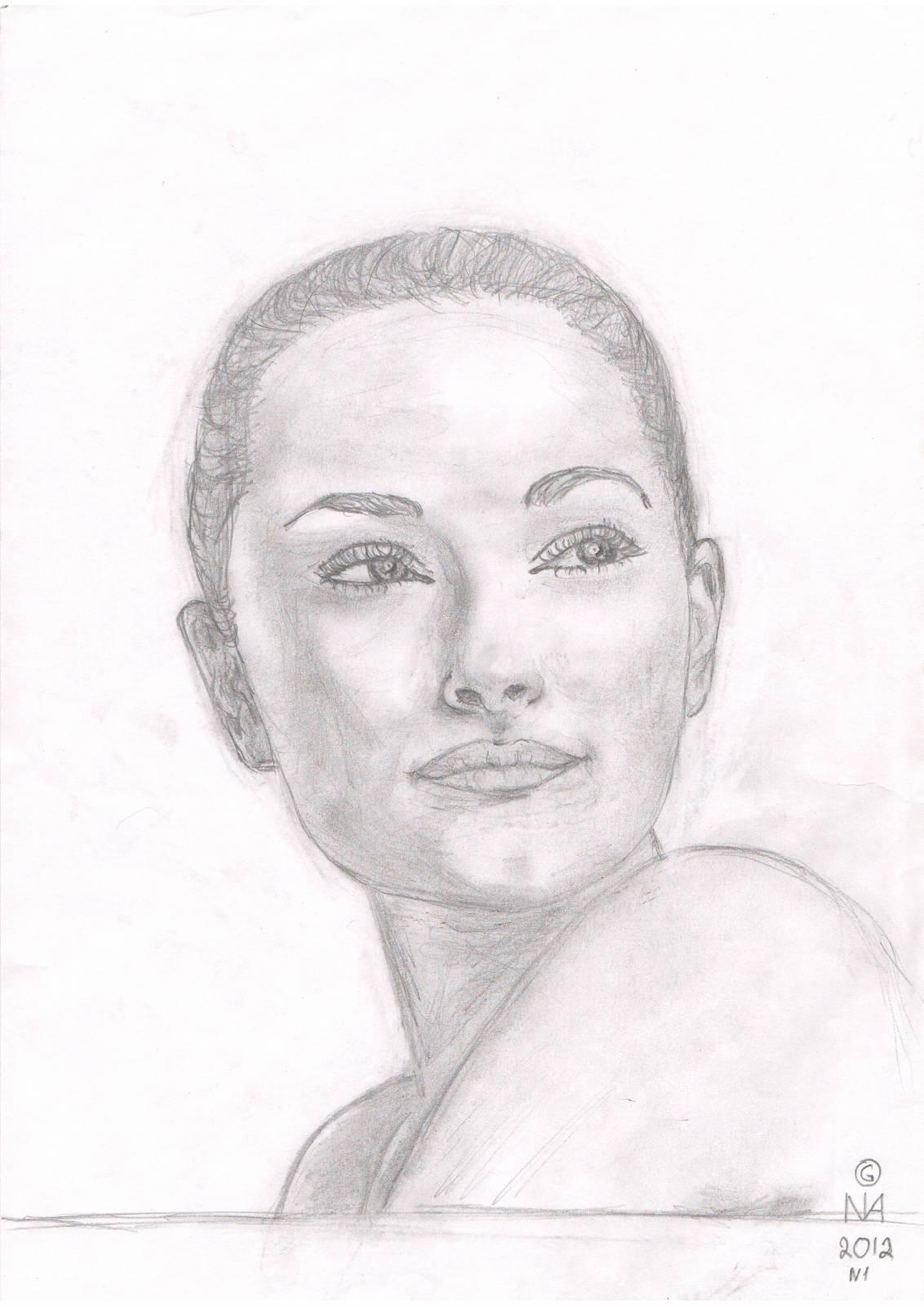 Рисунки карандашом голых девочек 23 фотография